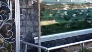 Ограда - аквариум в Турция