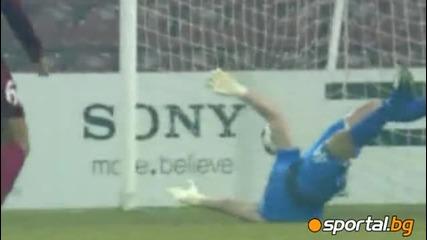 8.12.2010 Чфр Клуж - Рома 1 : 1 Мач от групите на Шампионска Лига