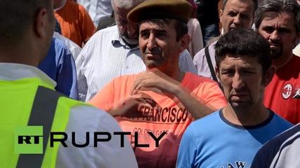 Bosnia-Herzegovina: Veterans protest Swiss arrest of Srebrenica military commander