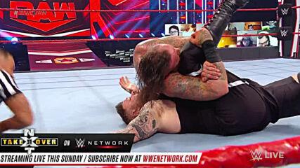 Kevin Owens vs. Aleister Black: Raw, Sept. 28, 2020