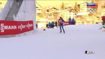 Biathlon Le Grand Bornand Women 10km Pursuit 2013.12.15