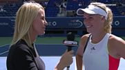 Video - Wozniacki I wont need to go for a run later - Us O
