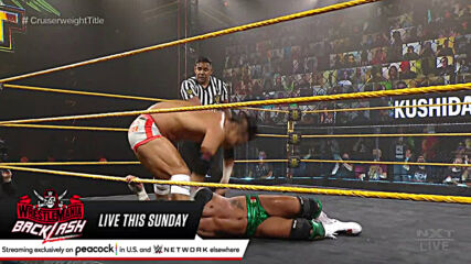 Kushida vs. Santos Escobar – NXT Cruiserweight Title 2-Out-Of-3 Falls Match: WWE NXT, May 11, 2021