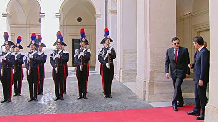 Italy: Libyan GNA's Al-Sarraj visits Conte in Rome