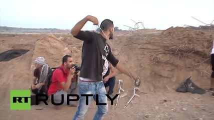 State of Palestine: Israel wounds numerous Palestinians during clashes *GRAPHIC*