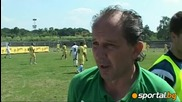 Todor Pramatarov to Sportaltv - There is huge interest from young