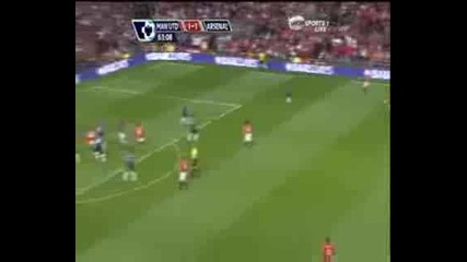 Manchester United vs Arsenal 2 - 1 Goals