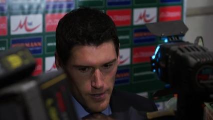 Гарет Бари: Показахме солидна игра срещу България