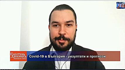 COVID-19 в България - резултати и прогнози