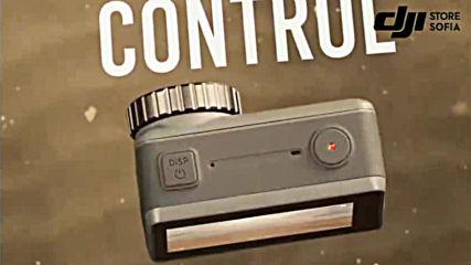 """Eто как изглежда 4k спортната екшън камера на """"dji Osmo Action"""" с два дисплея."""