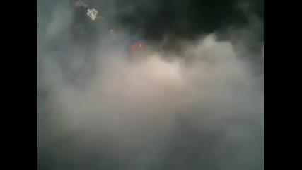 Honda cbr 600 F4 99 burnout