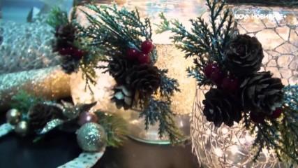 БЪРЗО, ЕВТИНО И КРАСИВО #3: Лесни идеи за коледна украса у дома