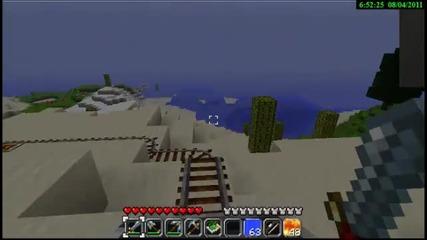 Minecraft-малко влакче