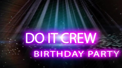Do it Crew - Birthday Party 30.09.14