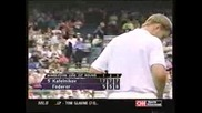 Wimbledon 2000 : Кафелников - Федерер