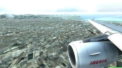 Fsx Iberia Landing in Mallorca!
