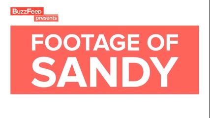 Ужас ! Ураганът Санди удари Америка
