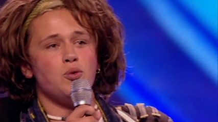 Това момче изправи журито и публиката на крака!! Luke Friend || The X Factor U K 2013 ||