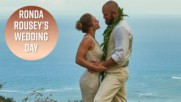 Ronda Rousey's wedding photos will make you cry