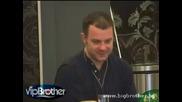 Vip Brother 3 - Аня и Емил обсъждат Азис