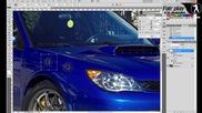Фотошоп дупки от патрони / Photoshop Bullet holes