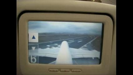 A380 s montirani monitori na sedalkata