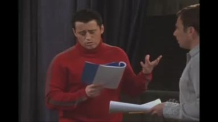 Joey Speaking French