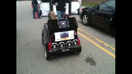 Powerwheel sound system -