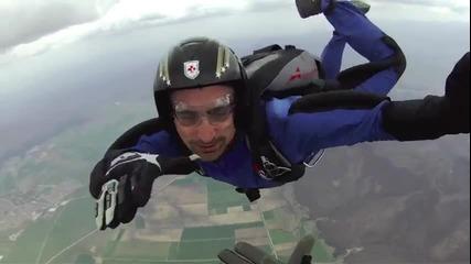 Скок с парашут, курс по свободно падане