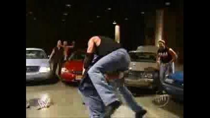 Джон Сина Срещу Еди Гереро - Бой В Паркинга ( С Превод )