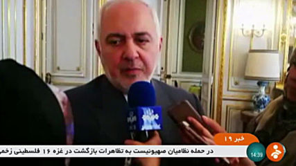 France: Iran FM Zarif hails 'productive' conversation with Macron on JCPOA