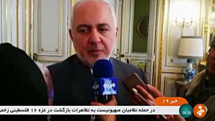 France: Iran FM Zarif hails 'productive' conversation with Macron on JCPOA