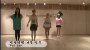 Secret - Starlight Moonlight mirrored dance practice