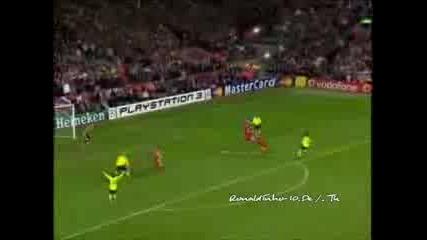 Ronaldinho Vs Liverpool