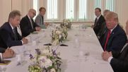 Finland: Trump greeted by Finnish President Niinsto ahead of Putin Summit