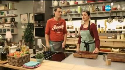 Домашен корнфлейкс и мармалад от бекон в Бон Апети (21.01.2015)