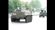 Военен Парад По Цариградско Шосе - 6 май 2008- София