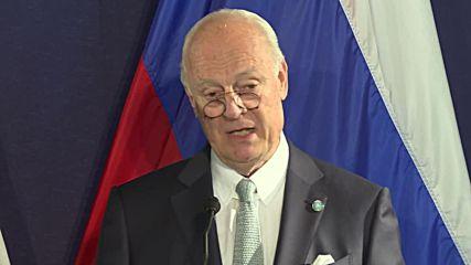 Austria: UN's de Mistura touts 'upgrading' of US-Russian operations centre in Syria