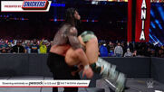 Edge Spears Roman Reigns in massive title clash: WrestleMania 37 – Night 2 (WWE Network Exclusive)
