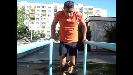 Street Fitnes Training - улична фитнес тренировка 2