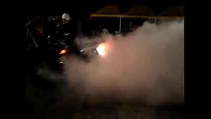 Мотосабор - 2 Мотора Палят Гуми