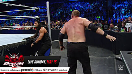 Roman Reigns vs. Kane - No Disqualification, No Count-Out Match: SmackDown, May 14, 2015 (Full Match)