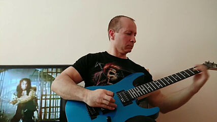 Oki Guitar Player-holy Diver Ronnie James Dio cover