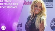 Britney Spears denies lip syncing (yeah, right)
