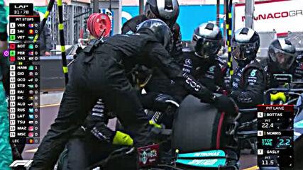 Формула 1 Гран При Монако 2021 Година Акценти От Състезанието