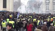 France: 'Yellow Vest' protesters hit Nantes