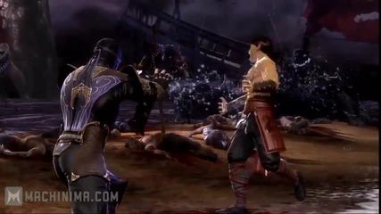 Mortal Kombat Rain Vignette Trailer [hd]