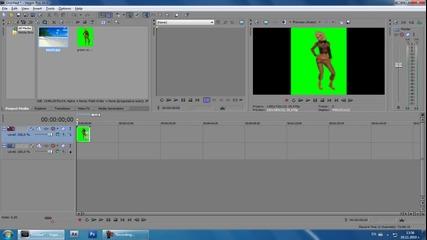 Sony Vegas tutorial - Зелен екран