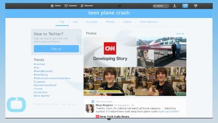 Teen Hiking to Safety After Plane Crash a Miracle