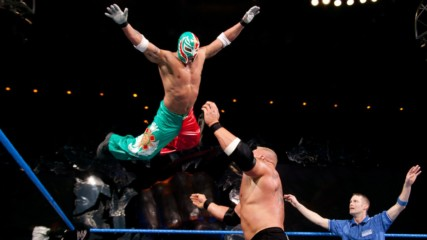 Rey Mysterio vs. Brock Lesnar: SmackDown, Dec. 11, 2003